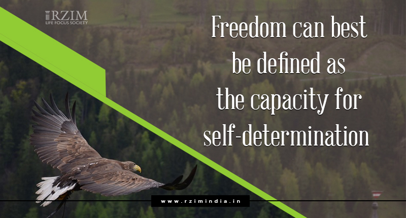 The Challenge to Human Freedom