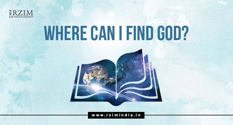 Where can I find god