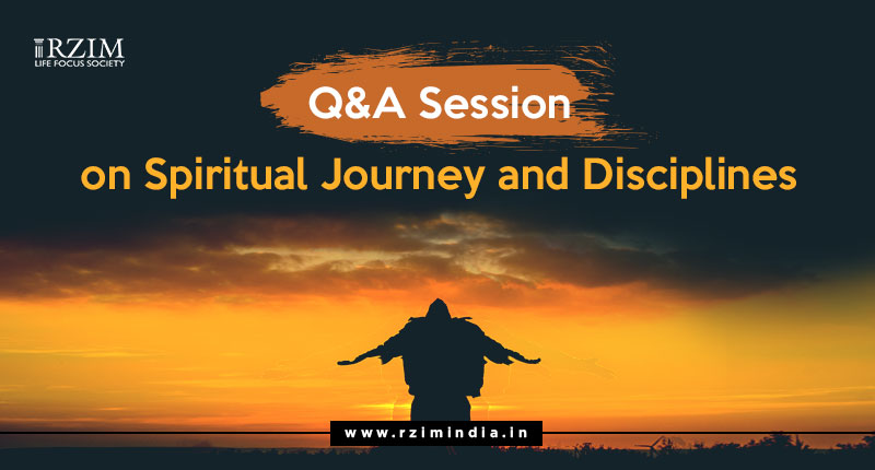 Q and A Session Spiritual Journey and Discipline