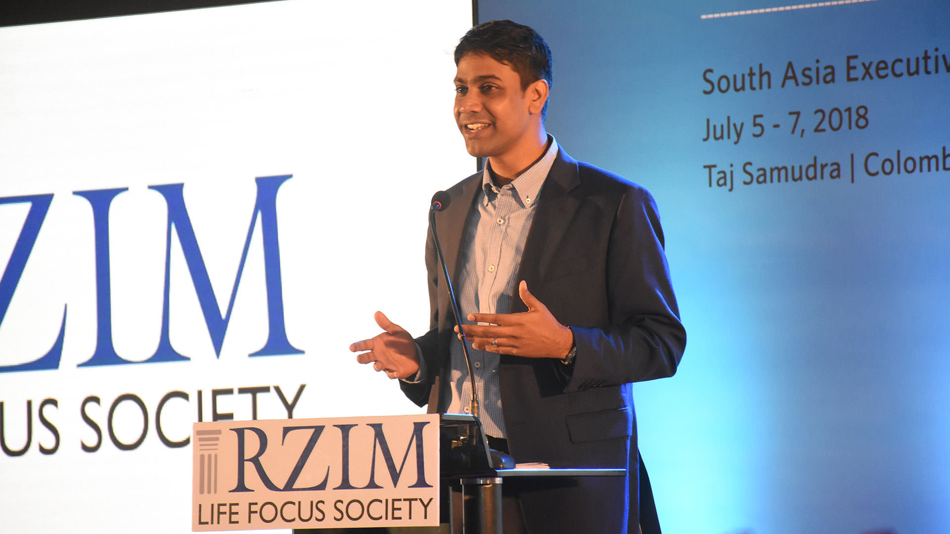 Dr. Daniel Thejus (Bobby) RZIM India