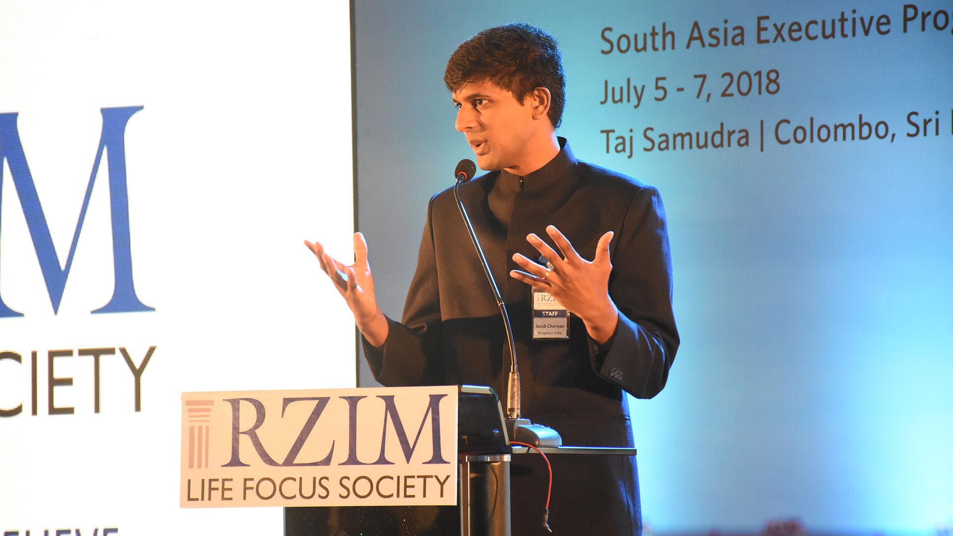 Jacob Cheriyan RZIM India