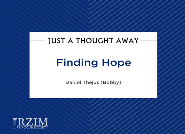 Just a Thought Away - Finding Hope