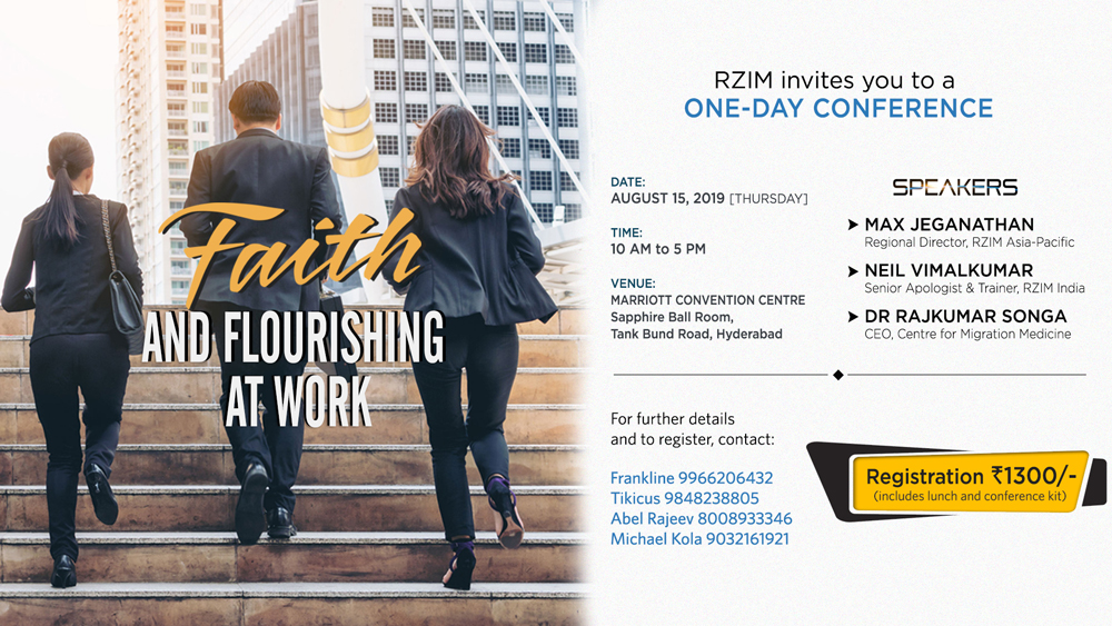 Faith and Flourishing at Work Conference