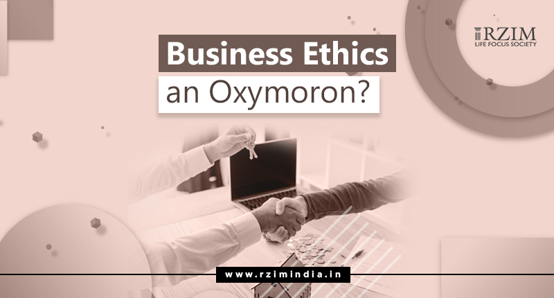 Business Ethics on Oxymoron - Article