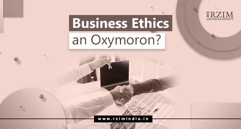 Business Ethics on Oxymoron - Article