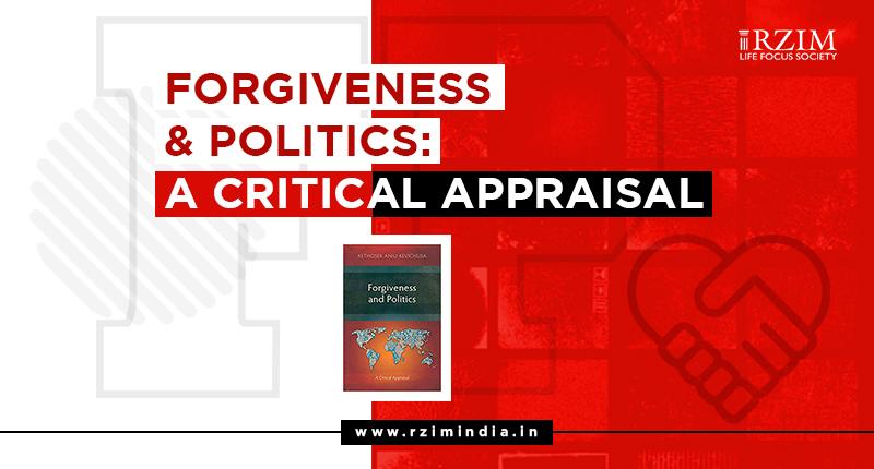 [Book Abstract] Forgiveness and Politics: A Critical Appraisal