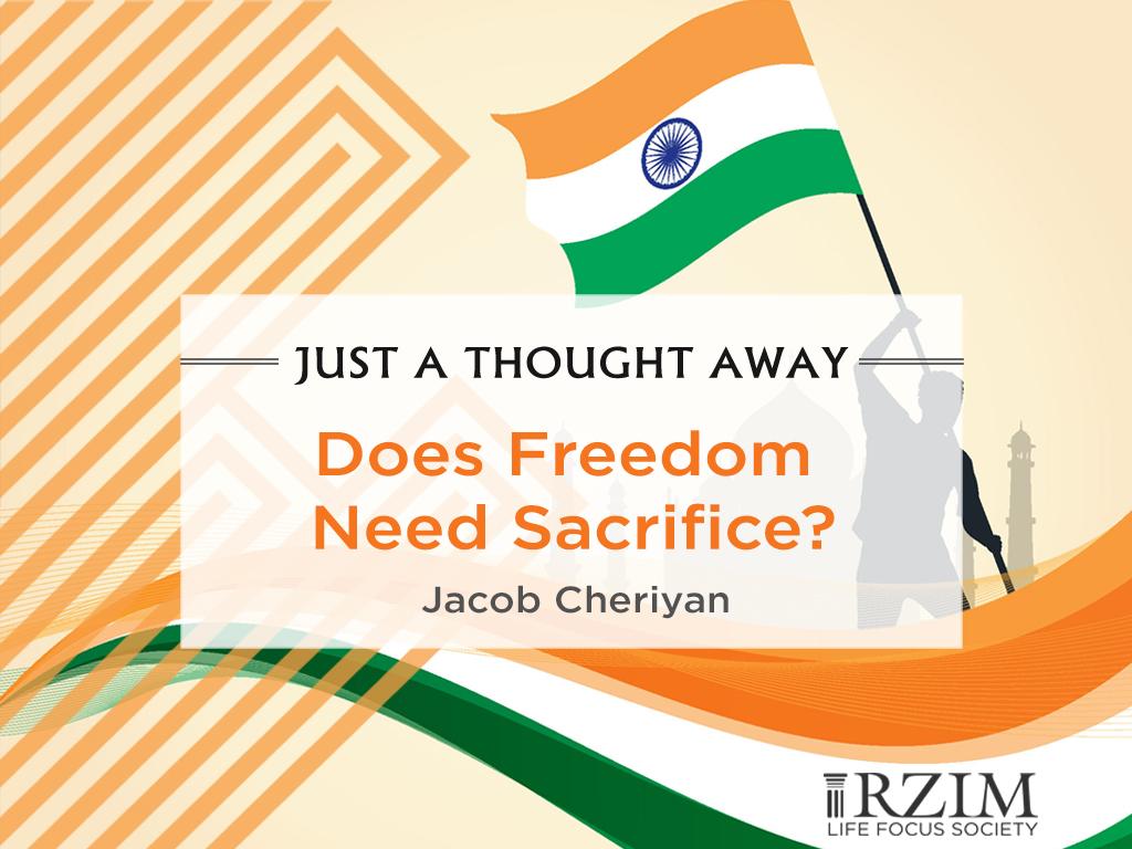 Does Freedom Need Sacrifice?