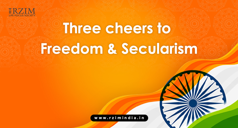 Three Cheers to Freedom & Secularism