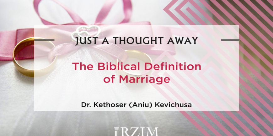 A Biblical Definition of Marriage - Aniu - 1