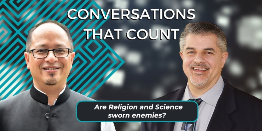 Science, Faith & COVID 19 – Part 2 | Dr Balajied & Dr Fazale Rana | Conversations that Count 2