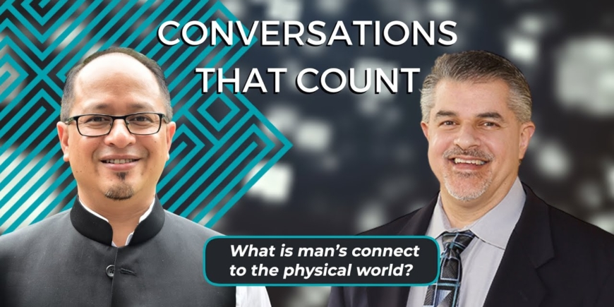 What is Man's Connect to the Physical World? | Dr Balajied & Dr Fazale Rana | CTC 2