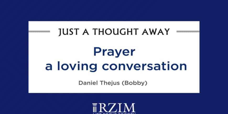 Prayer a Loving Conversation