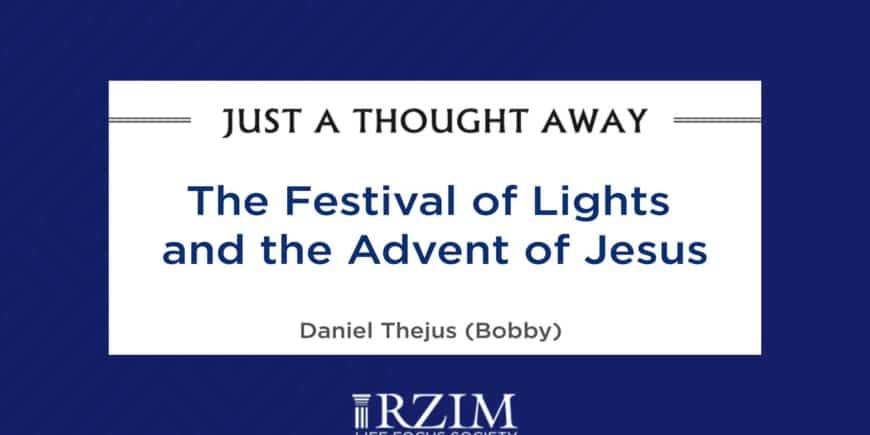 Festival of Lights and the Advent of Jesus