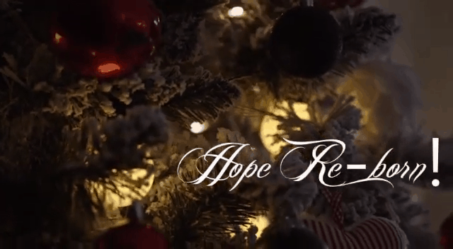 Watch out for our WhatsApp Advent Series, Hope Re-born
